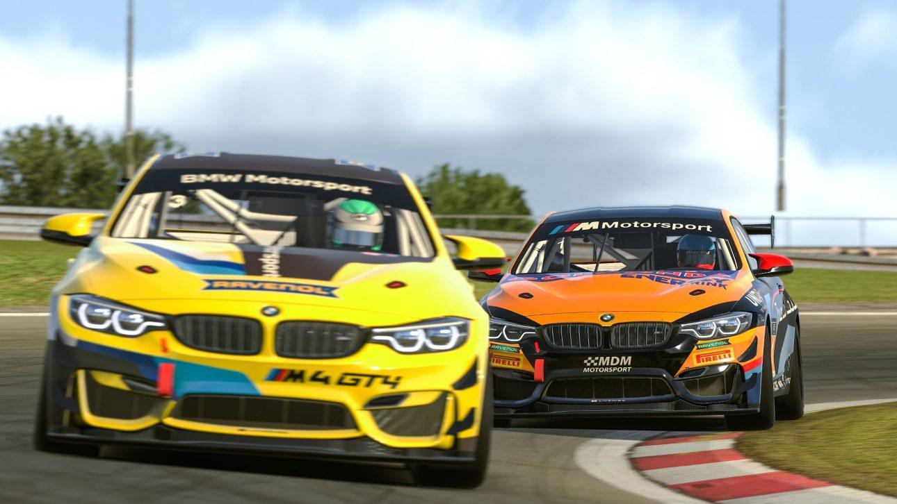 BMW Motorsport SIM Racing Copyright BMW