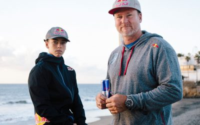 Björn und Liam Dunkerbeck Copyright Red Bull